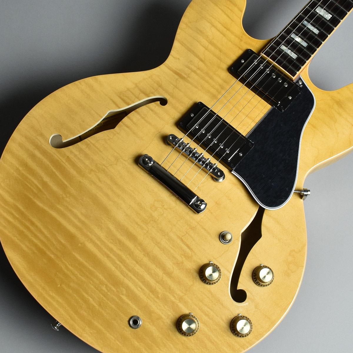 Gibson Memphis ES-335 Figured Dark Vintage Natural S/N:12657733 セミアコ 【ギブソン メンフィス ES335】【未展示品】
