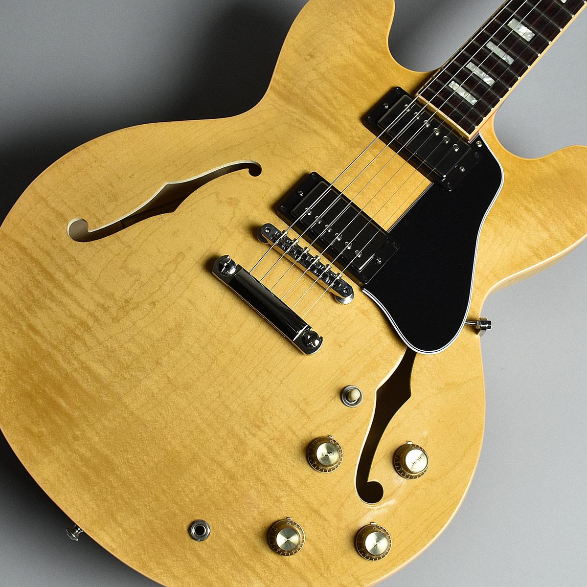 Gibson Memphis ES-335 Figured Dark Vintage Natural S/N:12637735 セミアコ 【ギブソン メンフィス ES335】【未展示品】
