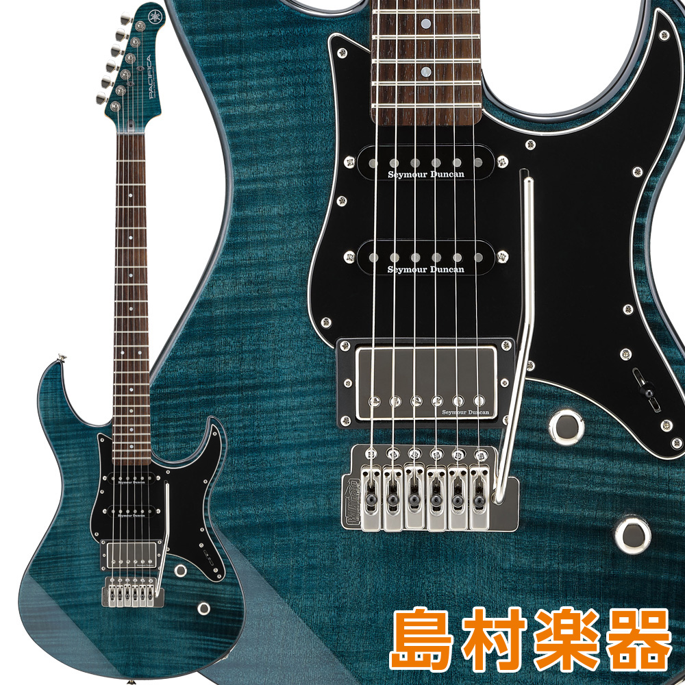 YAMAHA PACIFICA612VIIFM インディゴブルー エレキギター 【ヤマハ】