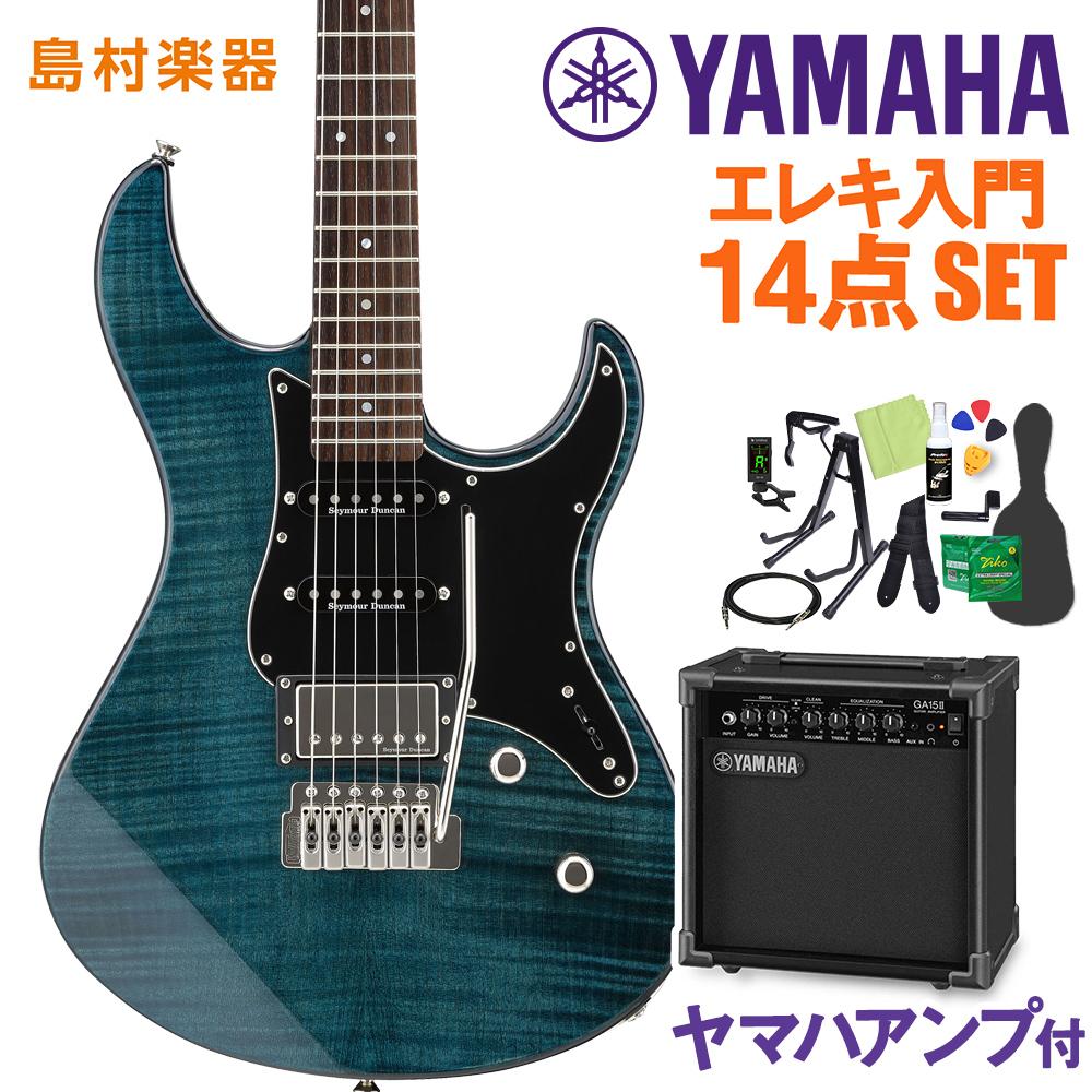YAMAHA PACIFICA612VIIFM インディゴブルー エレキギター 初心者14点セット 【ヤマハアンプ付き】 【ヤマハ】【オンラインストア限定】
