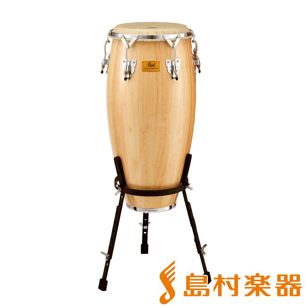 Pearl CG-110WSR ホワイトウッドコンガ 11インチ 【パール White Wood Congas w/REMO NUSKYN HEADS】