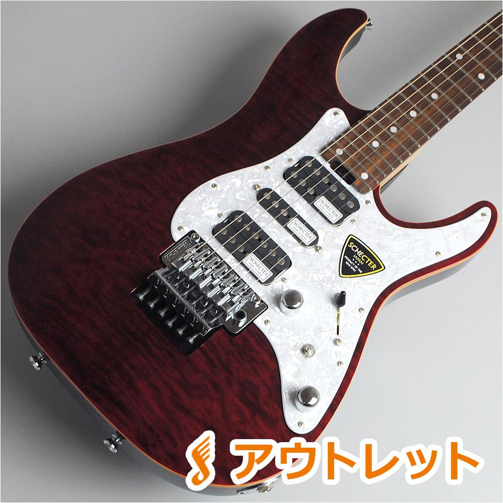 SCHECTER SD-2-24-AL/R/RED エレキギター 【シェクター】【ビビット南船橋店】【アウトレット】【現物画像】