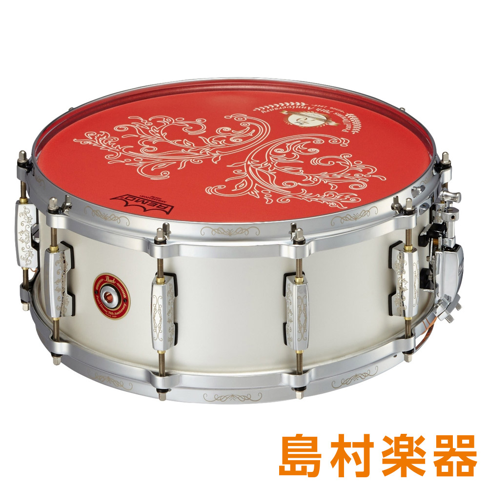 Pearl Pearl Drums 70th Anniversary Snare Drums MRS1455S/70 スネアドラム 70th Annv. 【パール】