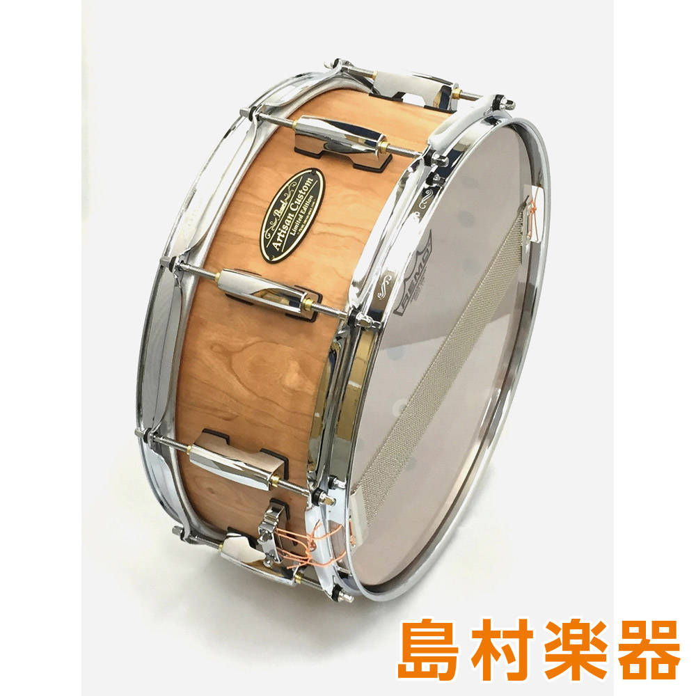 Pearl Artisan Custom Limited Shell By DrumArt DAAC1455S/C スネアドラム ArtisanCustom アメリカンチェリー 【パール】