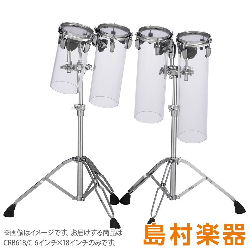 Pearl CRYSTAL BEAT Rocket Toms CRB618/C ロケットタム クリスタルビート 【パール】