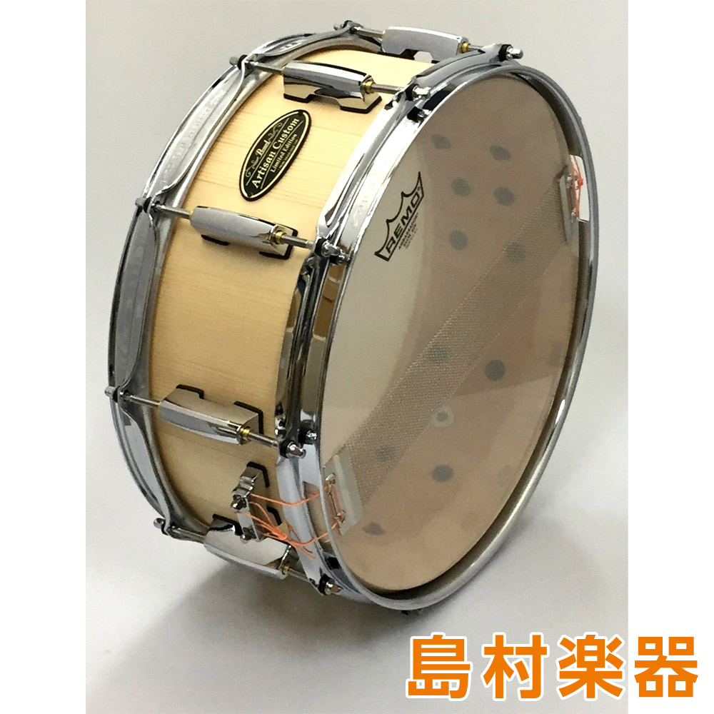 Pearl Art isan Custom Limited Shell By DrumArt DASP1455S/C スネアドラム ArtisanCustom スプルース 【パール】