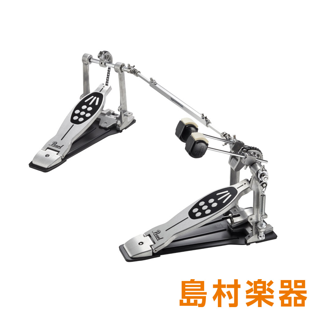 Pearl POWERSHIFTER REDLINE STYLE DOUBLE PEDAL P-922 ドラムペダル 【パール】