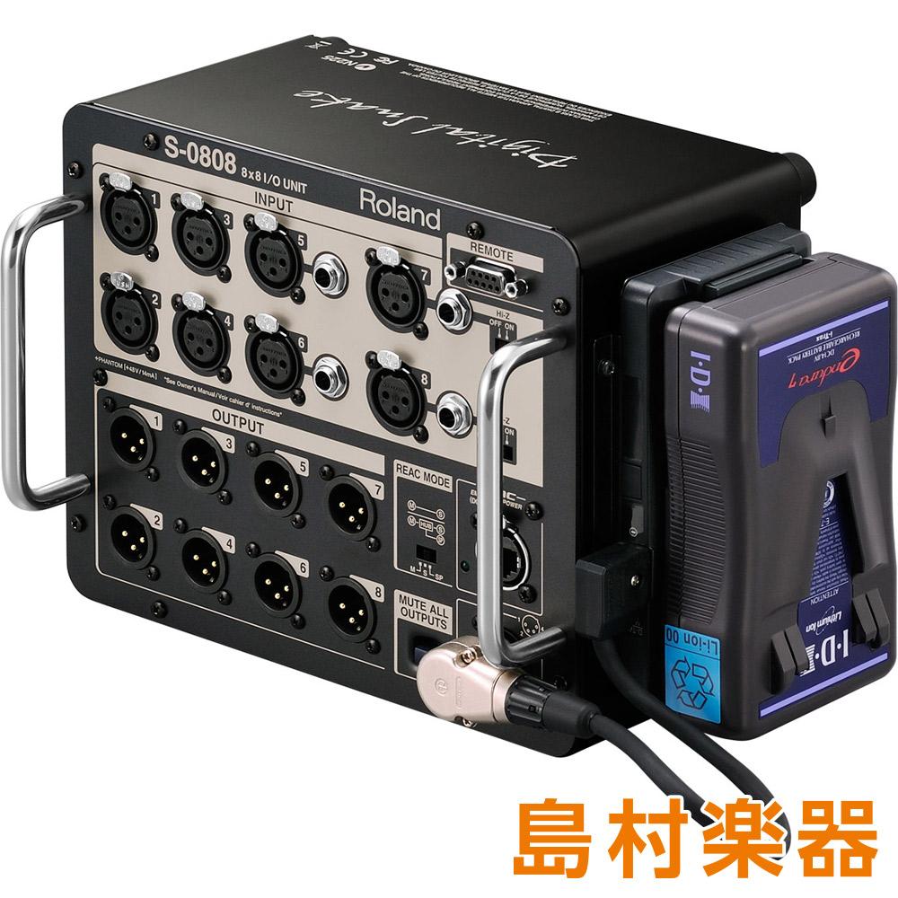 Roland S-0808 8×8 I/O Unit 【ローランド】
