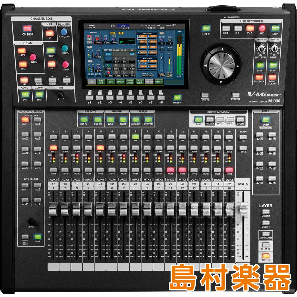 Roland M300 V-MIXER ライブミキシングコンソール 【ローランド】