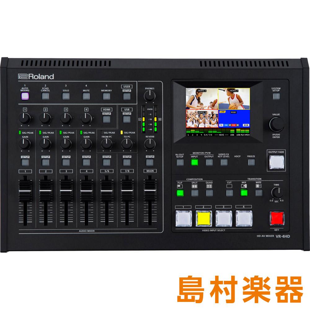 Roland VR-4HD HD AVミキサー 【ローランド】