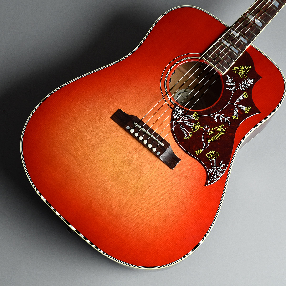 Gibson Hummingbird 2018 Heritage Burst S/N:13337055 エレアコ 【ギブソン】【未展示品】