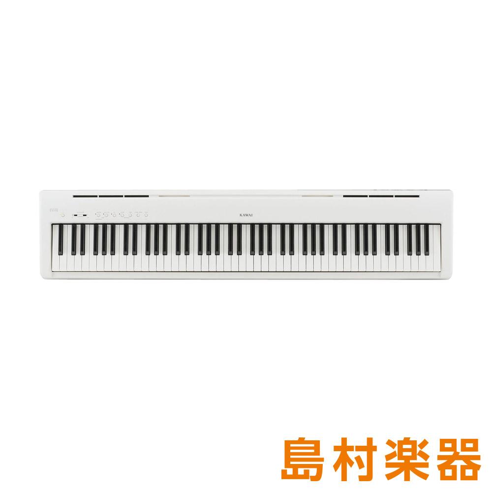 KAWAI ES110W ホワイト 電子ピアノ 88鍵盤 【カワイ】【別売り延長保証対応プラン:E】