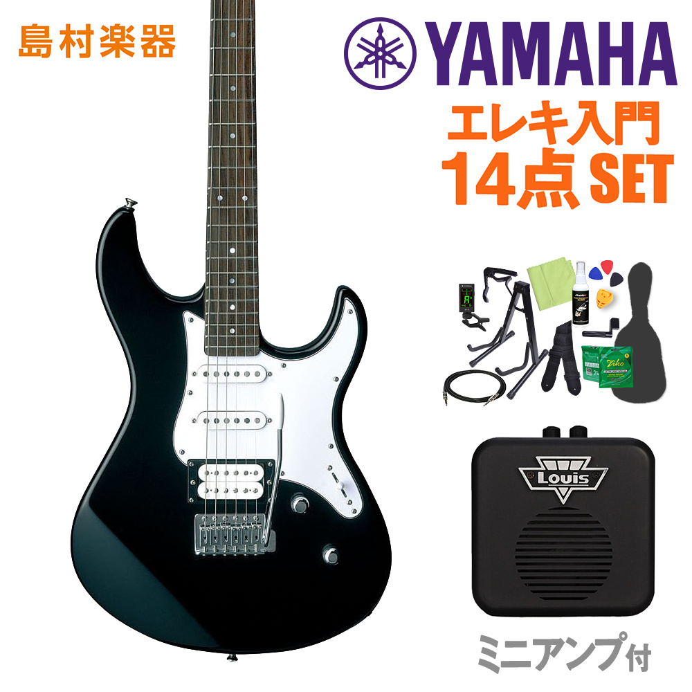YAMAHA PAC112V BL 初心者14点セット 【ミニアンプ付き】 【ヤマハ】【オンラインストア限定】