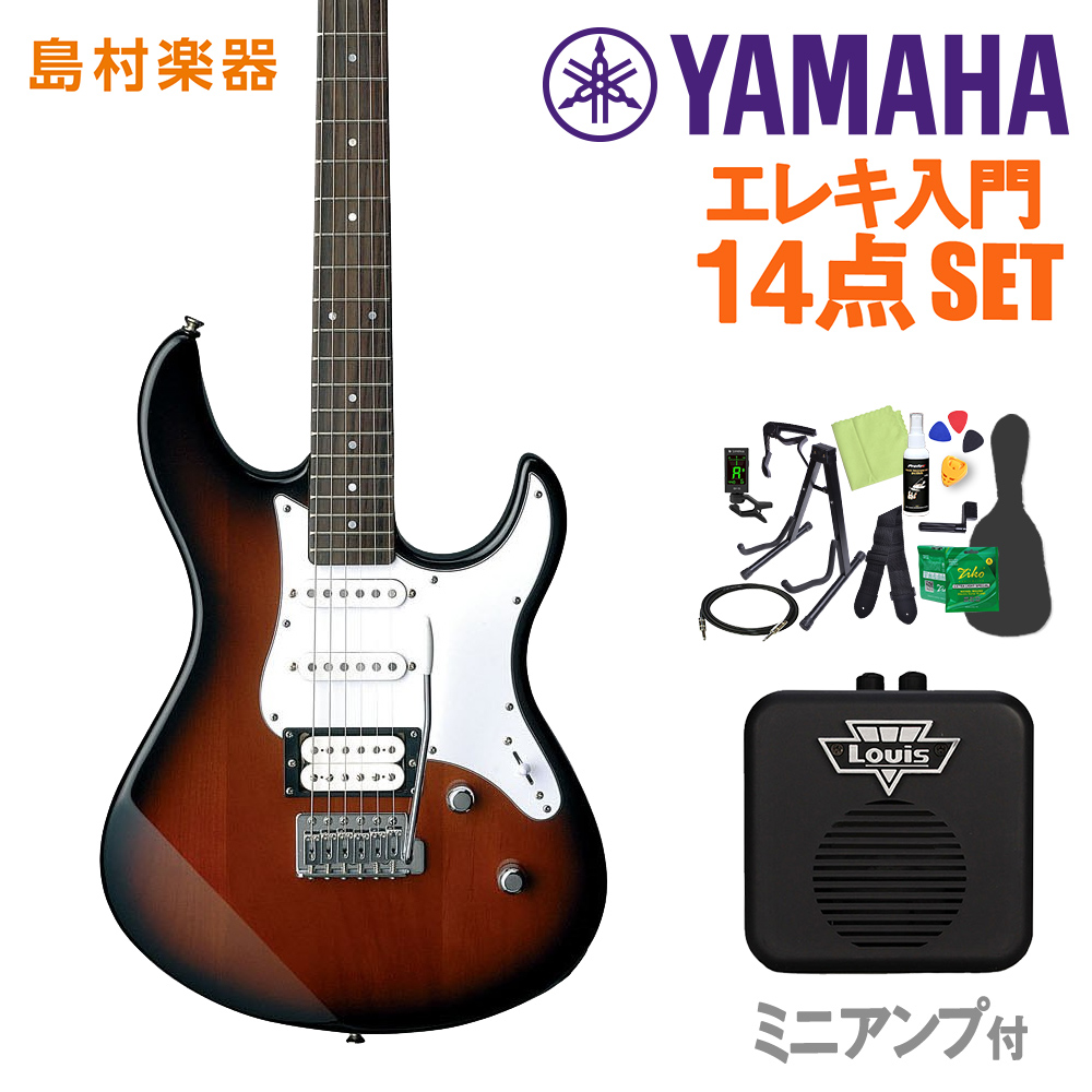 YAMAHA PAC112V OVS 初心者14点セット 【ミニアンプ付き】 【ヤマハ】【オンラインストア限定】
