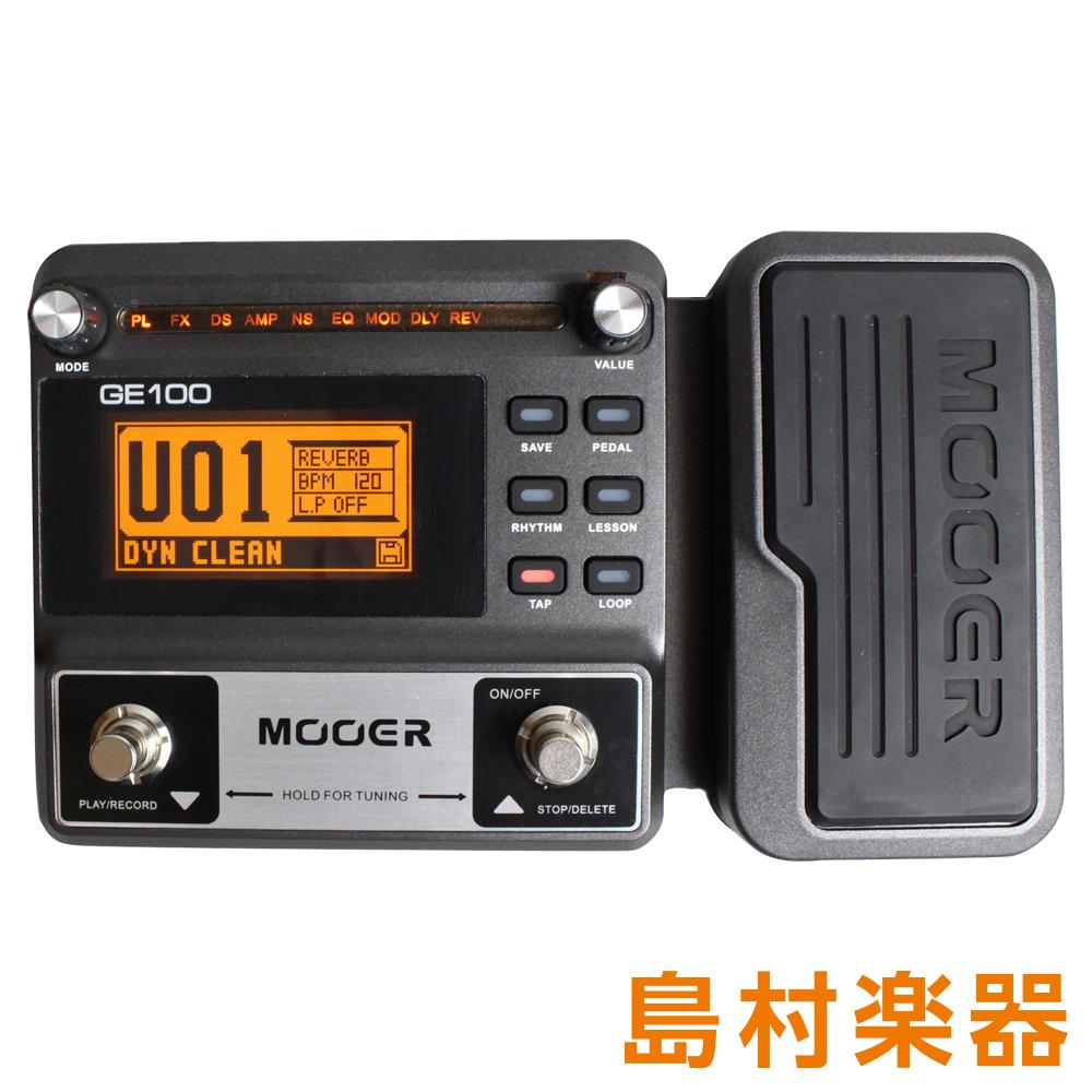 MOOER GE100 マルチエフェクター 【ムーア】