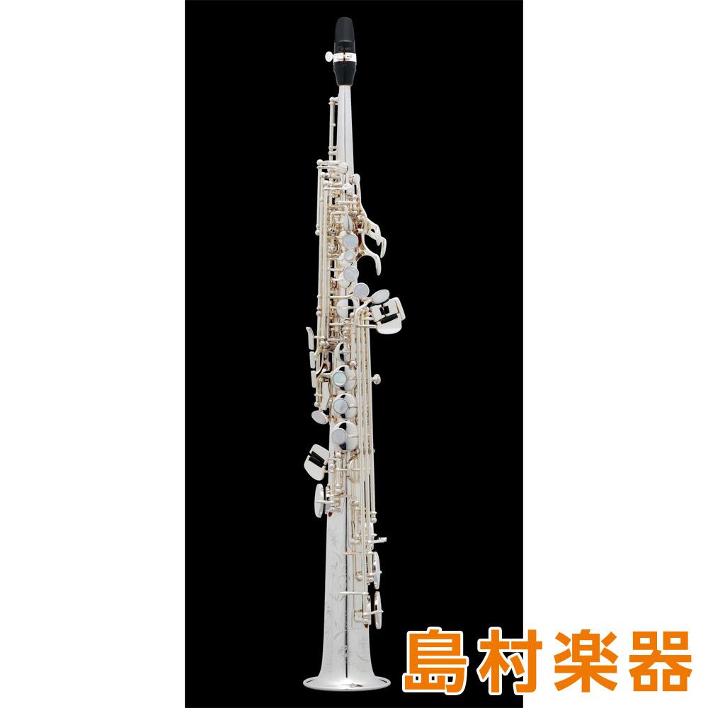 H.Selmer SA802 Jubilee SP ソプラノサックス Bb 銀メッキ 彫刻入り 【セルマー スーパーアクション80 シリーズ2 ジュビリー】