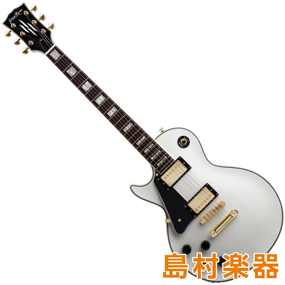 GrassRoots G-LP-60C/LH WH エレキギター 左利き レフトハンド 【グラスルーツ】