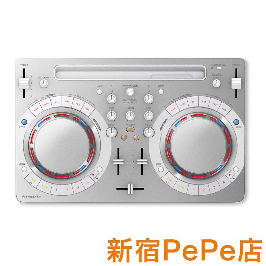 Pioneer DJ DDJ-WeGO4-W (ホワイト) DJコントローラー Pioneer【パイオニア DDJWeGO4K DJ】【新宿PePe店】, カイヅチョウ:fb34e7ae --- sunward.msk.ru