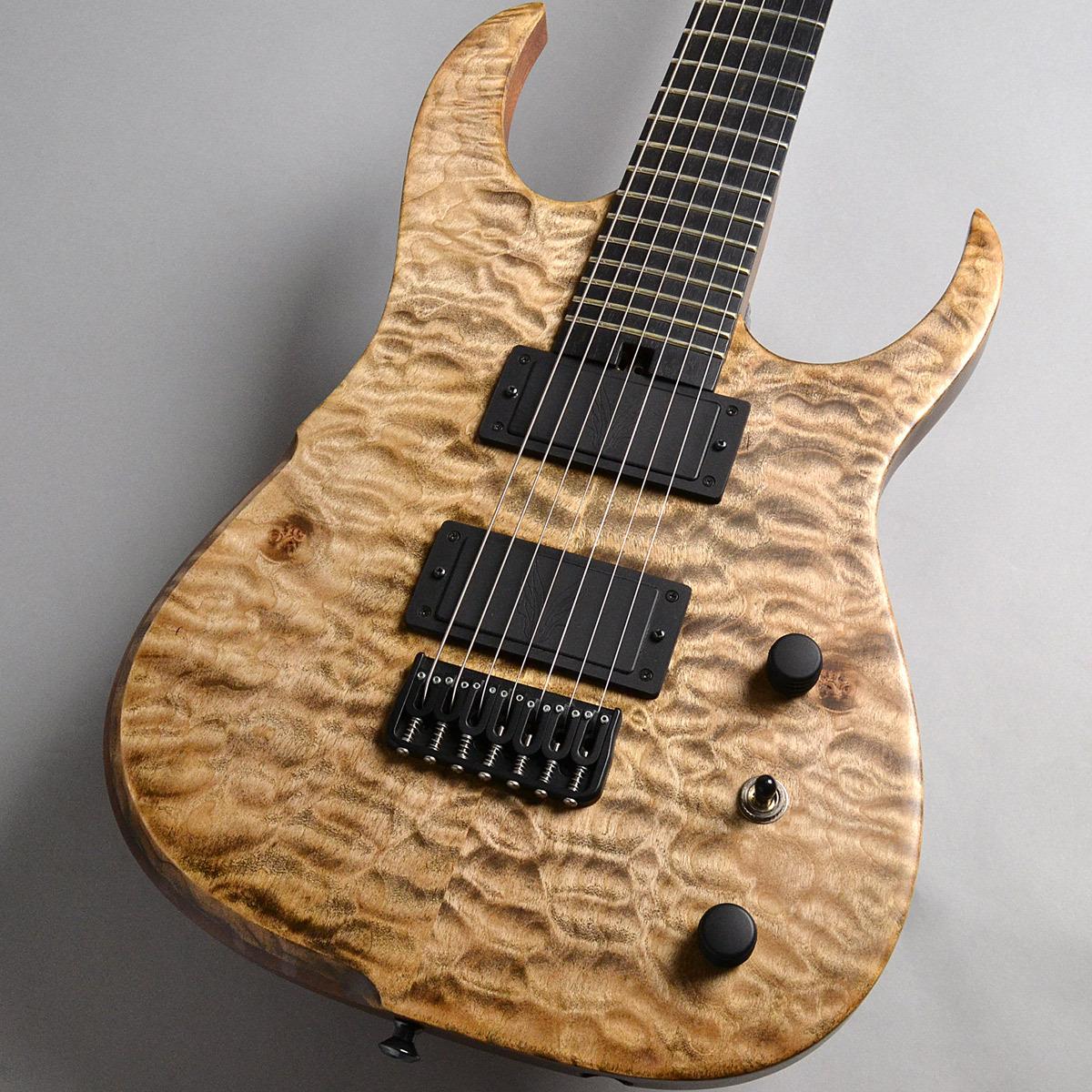 Hufschmid Guitars Hufschmid Guitars Tantalum 7st Reverse Inline Head QM 【ハフシュミッドギター】【新宿PePe店】