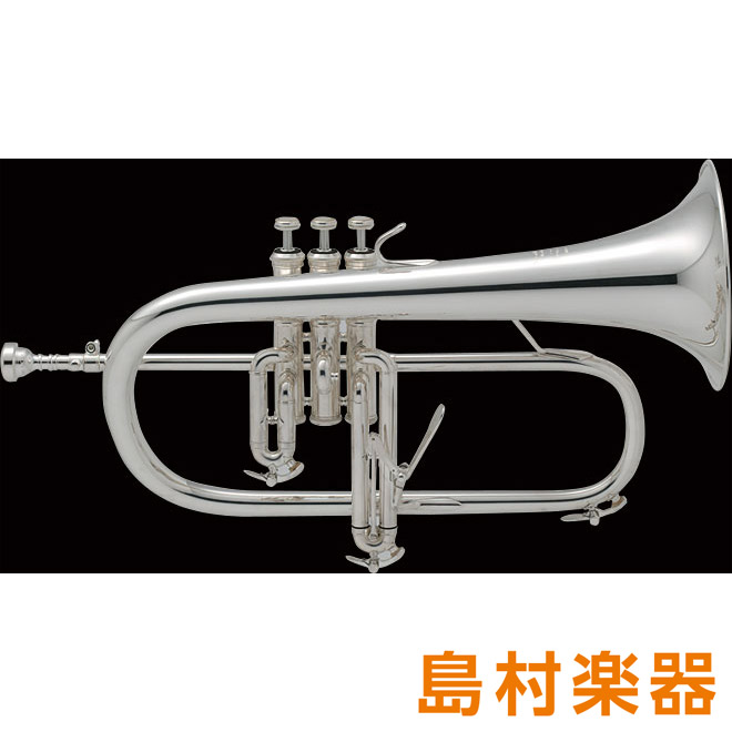 Bach 183 Stradivarius フリューゲルホルン B♭銀メッキ 【バック】