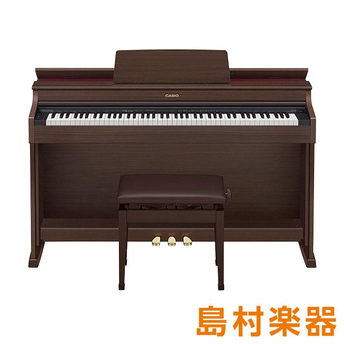 CASIO AP-470 BN オークウッド調 電子ピアノ セルヴィアーノ 88鍵盤 【カシオ AP470】【配送設置無料・代引き払い不可】【別売り延長保証対応プラン:D】