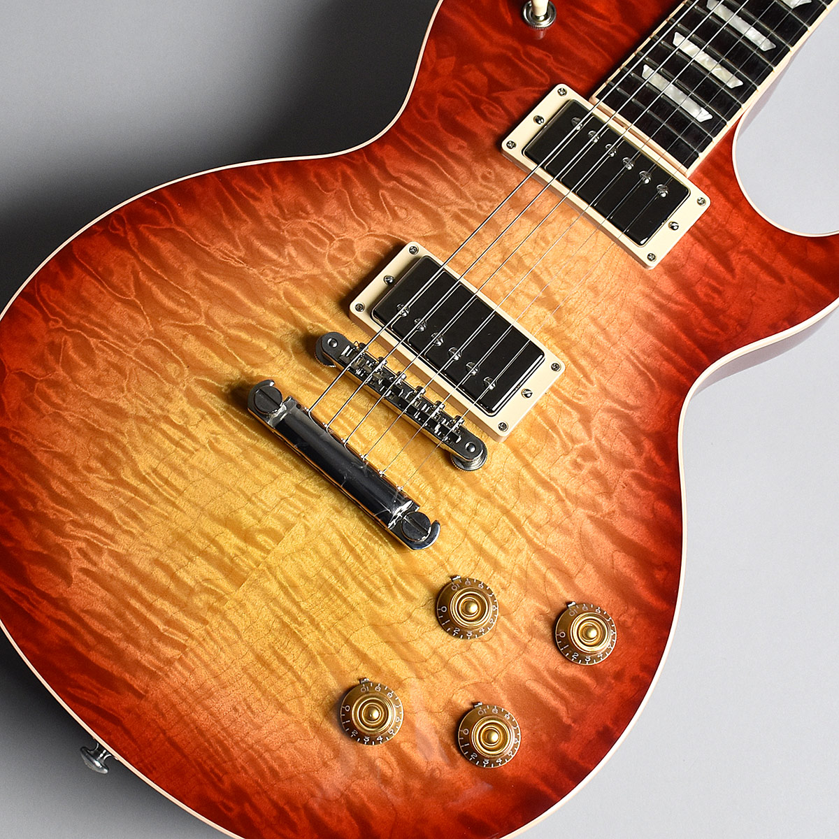 Gibson Les Paul Traditional Plus Quilt 2017 Limited Heritage Cherry Sunburst S/N:170073143 【ギブソン】【未展示品】