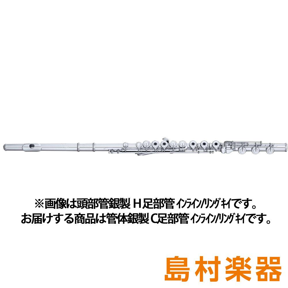 Powell SONARE PS-705 R/C フルート 管体銀製 C足部管 インライン リングキイ 【パウエル ソナーレ】