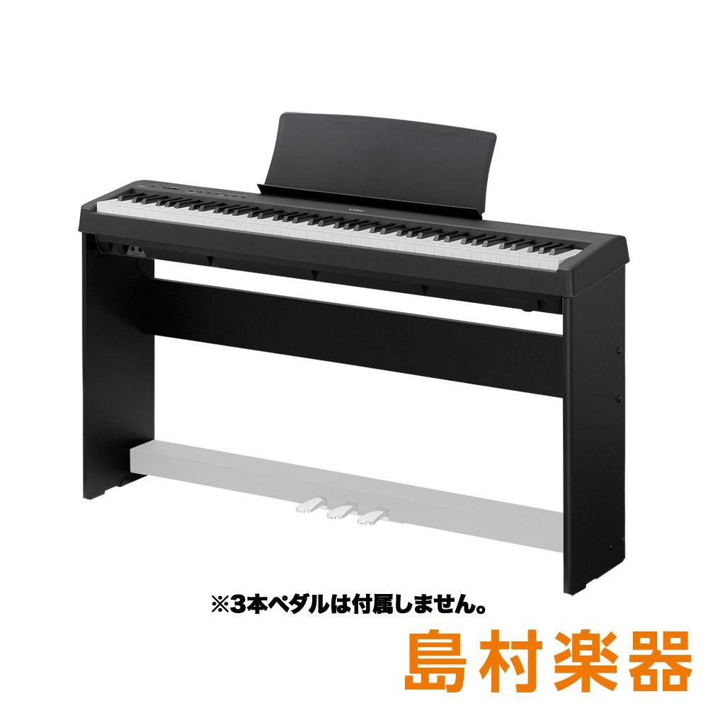 KAWAI ES110B ブラック 専用スタンドセット 電子ピアノ 88鍵盤 【カワイ】【別売り延長保証対応プラン:E】