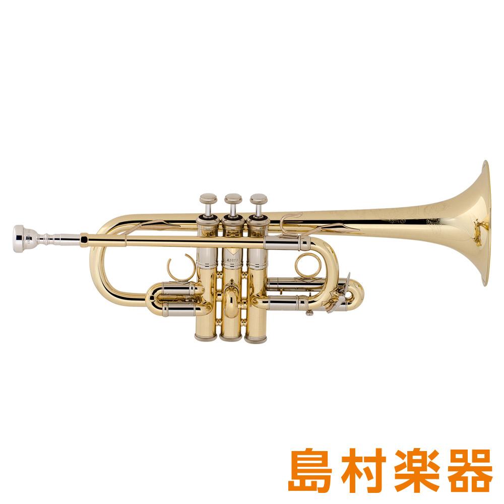 Bach AE190 Artisan トランペット E♭ ゴールドラッカー イエローブラス 【バック アルティザン】