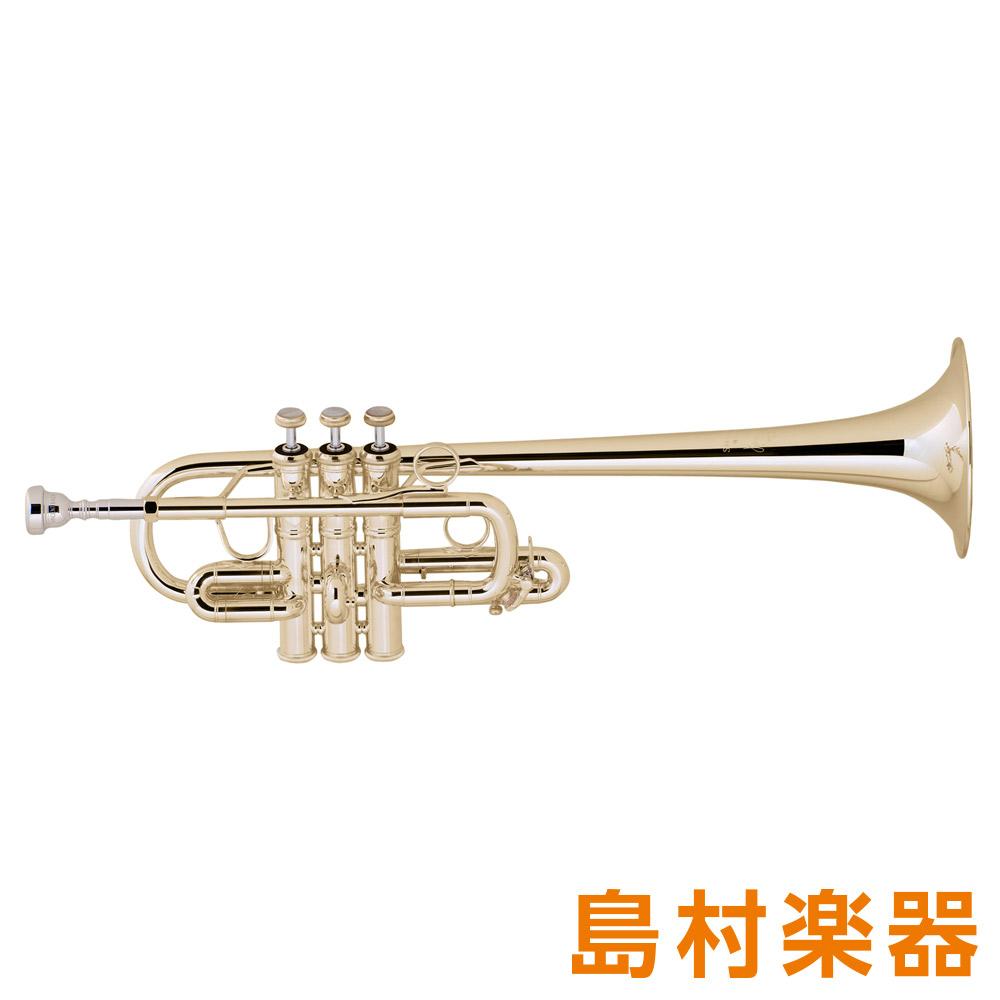 Bach 189 GB トランペット E♭ / D ゴールドブラス ロングベル D替管付き 【バック】