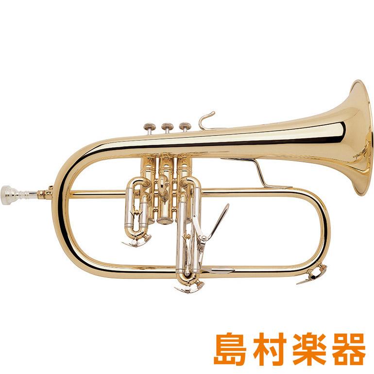 Bach 183 GL Stradivarius フリューゲルホルン B♭ ゴールドラッカー 【バック】
