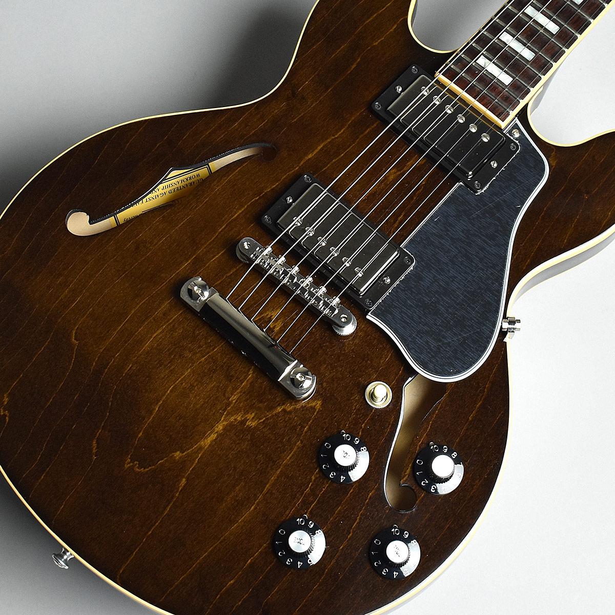 Gibson Memphis ES-339 2018 Antique Walnut S/N:12647725 セミアコ 【ギブソン メンフィス ES339】【未展示品】