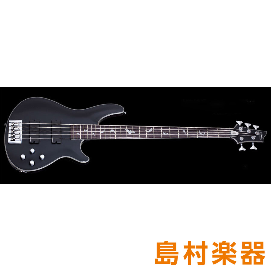 SCHECTER DAMIEN PLATINUM 4 AD-DM-PTM-5 Satin Black エレキベース DIAMOND SERIES DAMIEN PLATINUM 5 【シェクター】