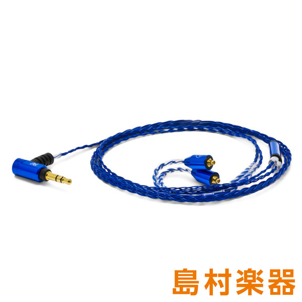 OYAIDE Palette 8 MX-A (Sapphire Blue) 【MMCXタイプ】 Shure SE シリーズなど汎用タイプ イヤホン用交換ケーブル リケーブル 【オヤイデ電気】