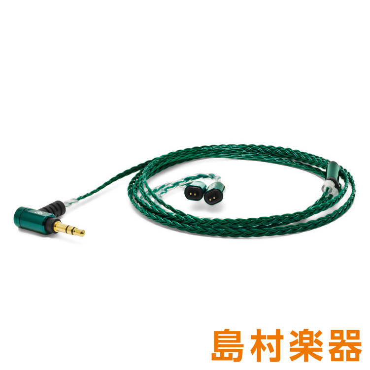 OYAIDE Palette8 UE-TF (Forest Green) 【Ultimate Ears TF-10用】 イヤホン用交換ケーブル リケーブル 【オヤイデ電気】