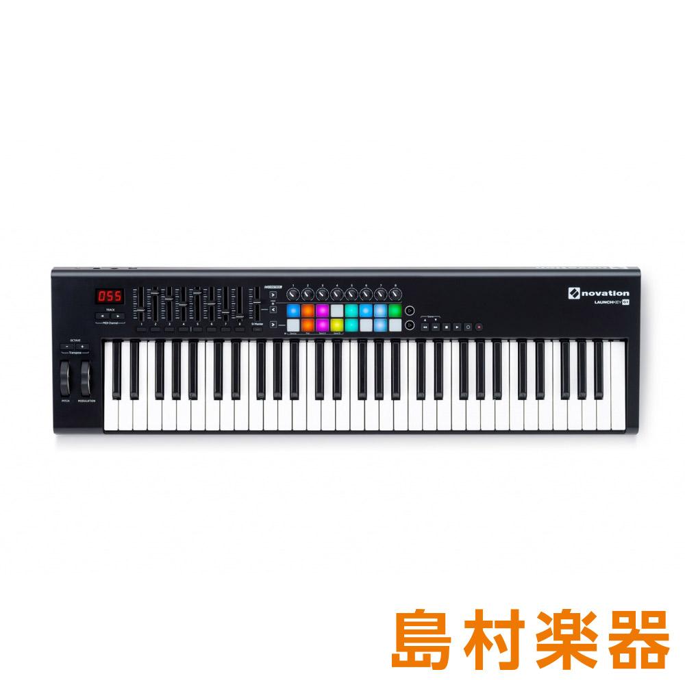 競売 [期間限定特価 2019/03/31迄]novation LAUNCHKEY 61 MKII 61鍵盤 MIDIキーボード 【ノベーション】, ロコモショップ f0f1dcfd