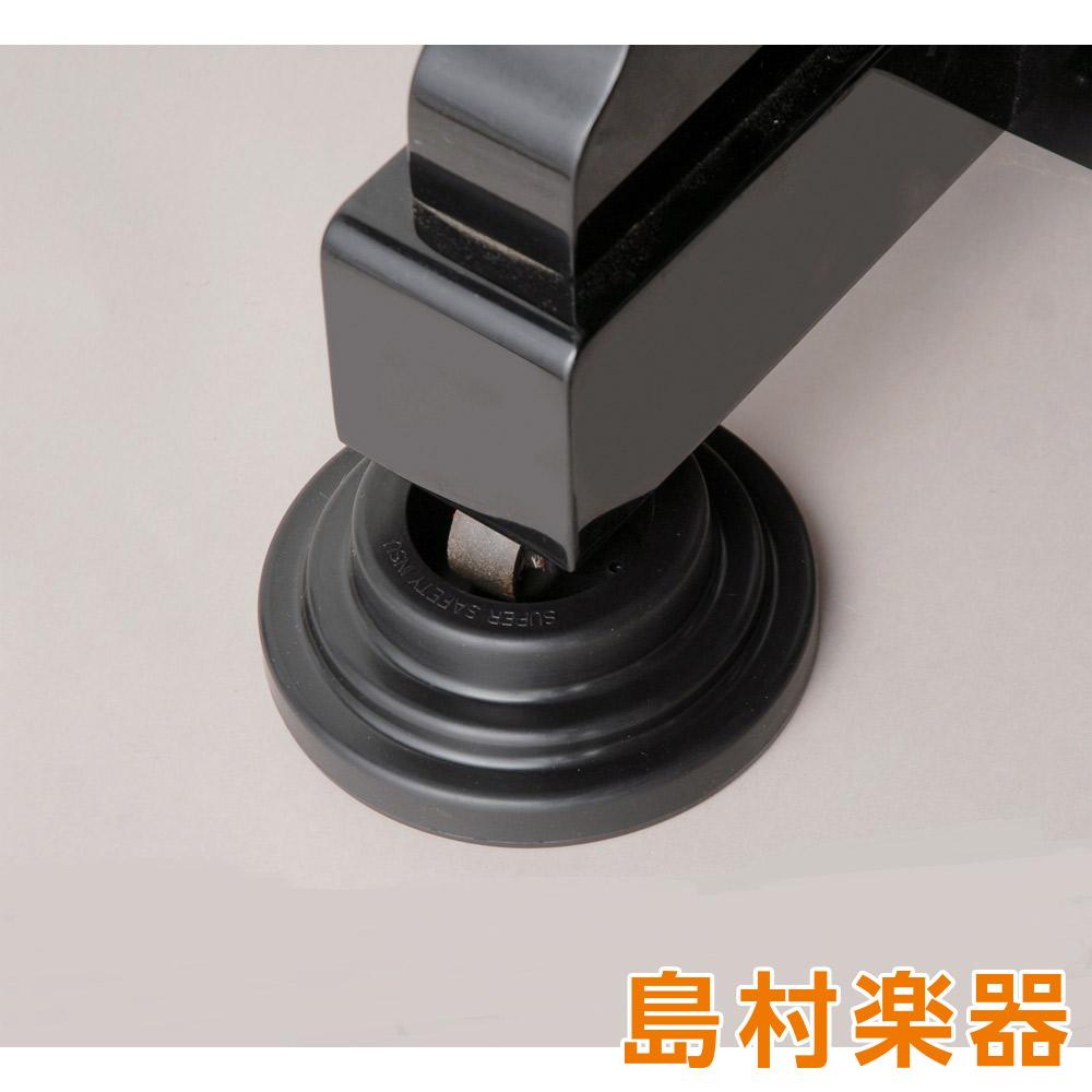 イトマサ スーパーセーフティーインシュ UP 黒 インシュレーター アップライトピアノ用 (4個1セット)