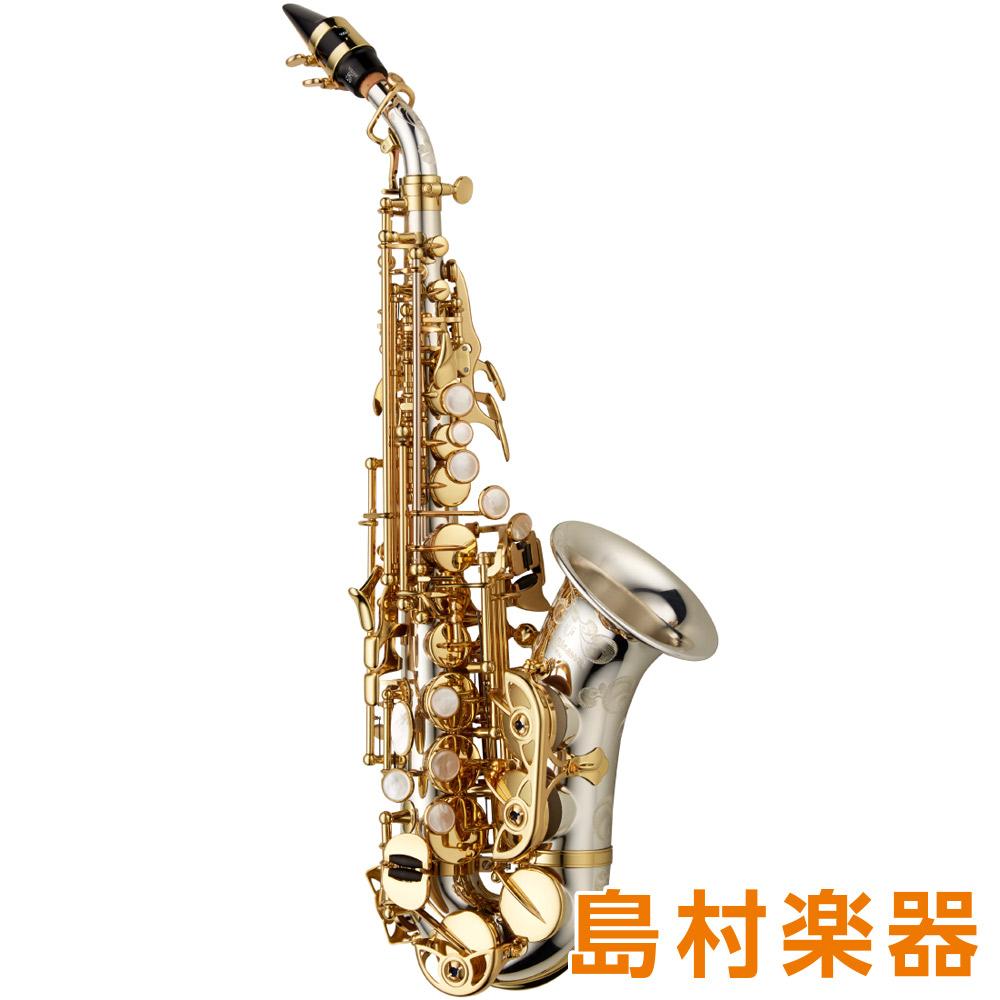 YANAGISAWA SC-WO37 カーブドソプラノサックス B♭ シルバー製 ラッカー仕上 HighF#キー付 彫刻入 【ヤナギサワ】