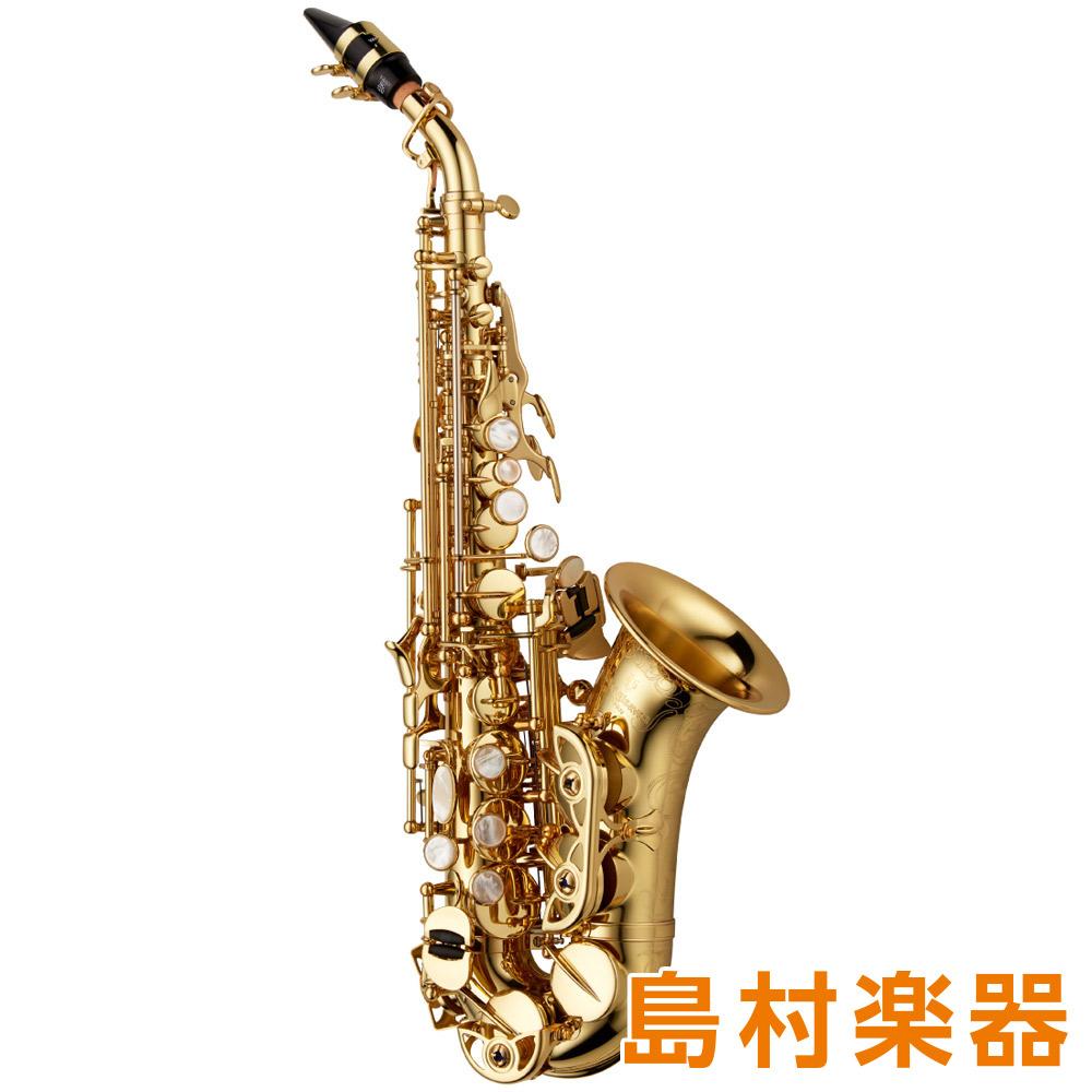YANAGISAWA SC-WO10 カーブドソプラノサックス B♭ ブラス製 ラッカー仕上 HighF#キー付 彫刻入 【ヤナギサワ】