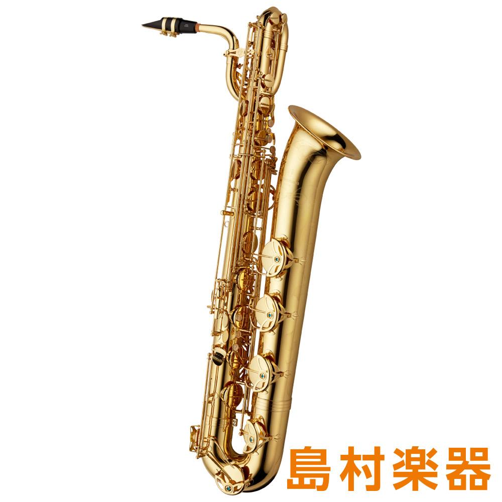 彫刻入 ラッカー仕上 B-WO1 バリトンサックス E♭ HighF♯キー付 ブラス製 【ヤナギサワ】 YANAGISAWA