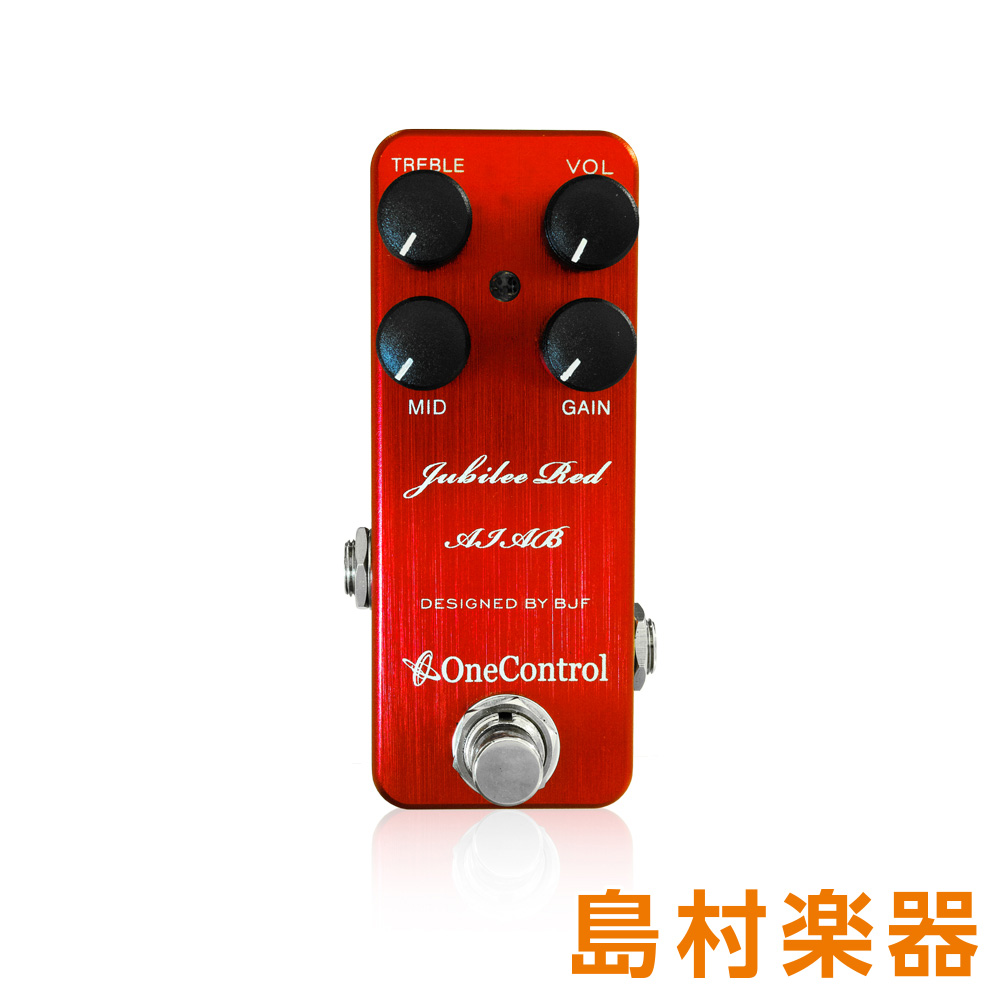 One Control Jubilee Red AIAB コンパクトエフェクター 【ワンコントロール】