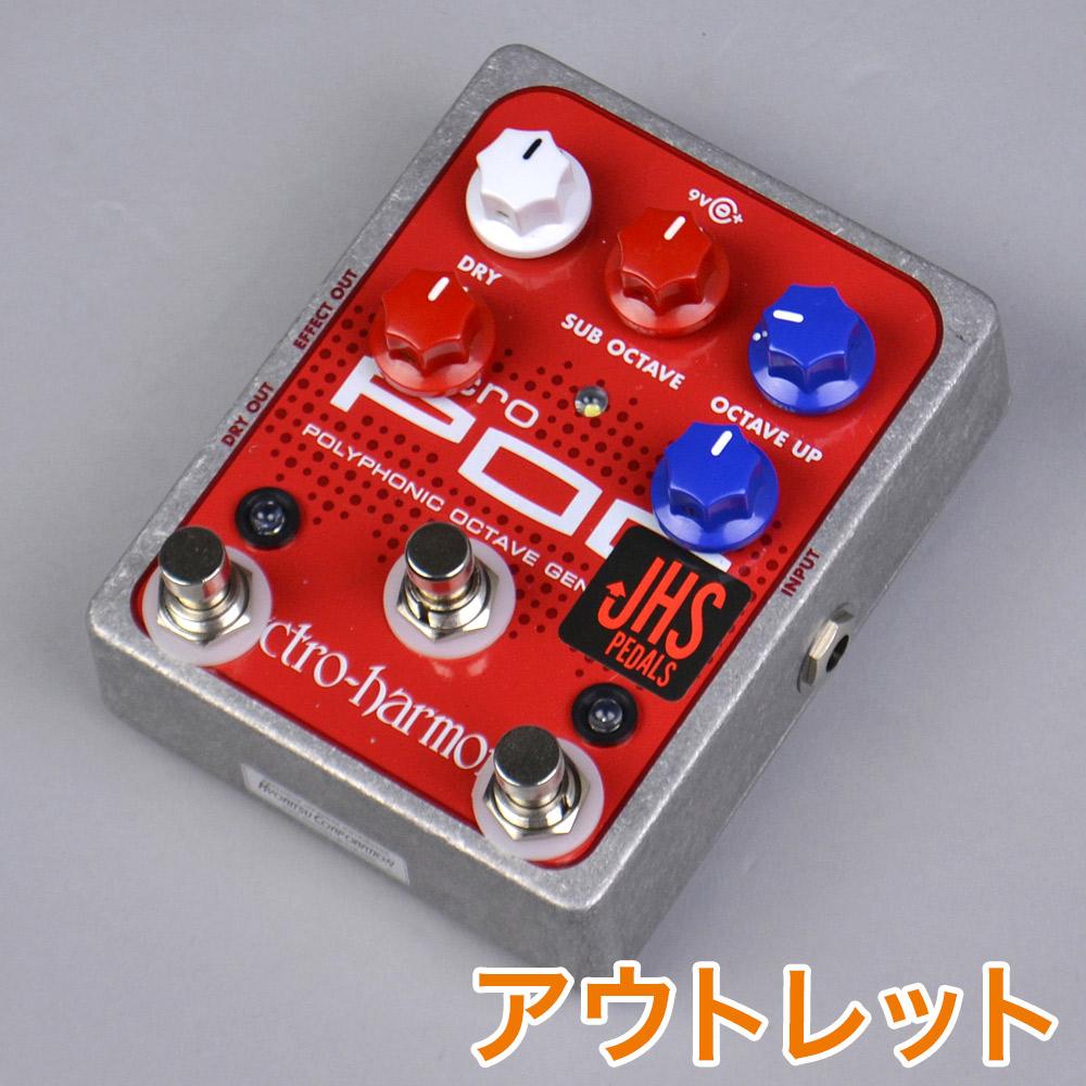 JHS Pedals Electro Harmonix Micro Pog Quadra Pog Mod モディファイ 【JHS ペダルス】【りんくうプレミアムアウトレット店】【アウトレット】