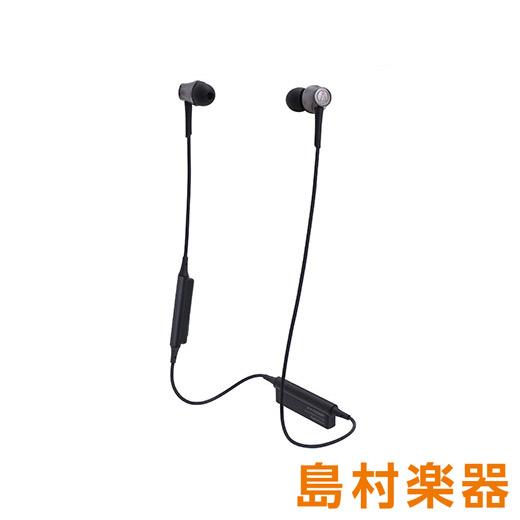 audio-technica ATH-CKR55BT BK スティールブラック Bluetoothイヤホン ワイヤレスイヤホン 【オーディオテクニカ】