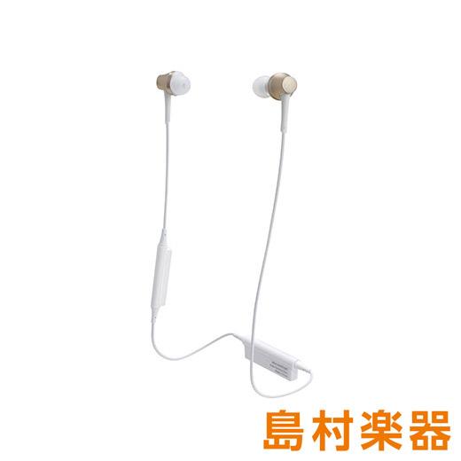 audio-technica ATH-CKR75BT CG シャンパンゴールド Bluetoothイヤホン ワイヤレスイヤホン 【オーディオテクニカ】