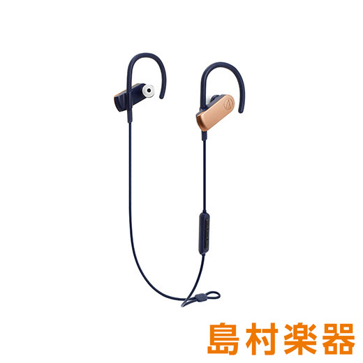 audio-technica ATH-SPORT70BT RGD ローズゴールド Bluetoothイヤホン ワイヤレスイヤホン 【オーディオテクニカ】
