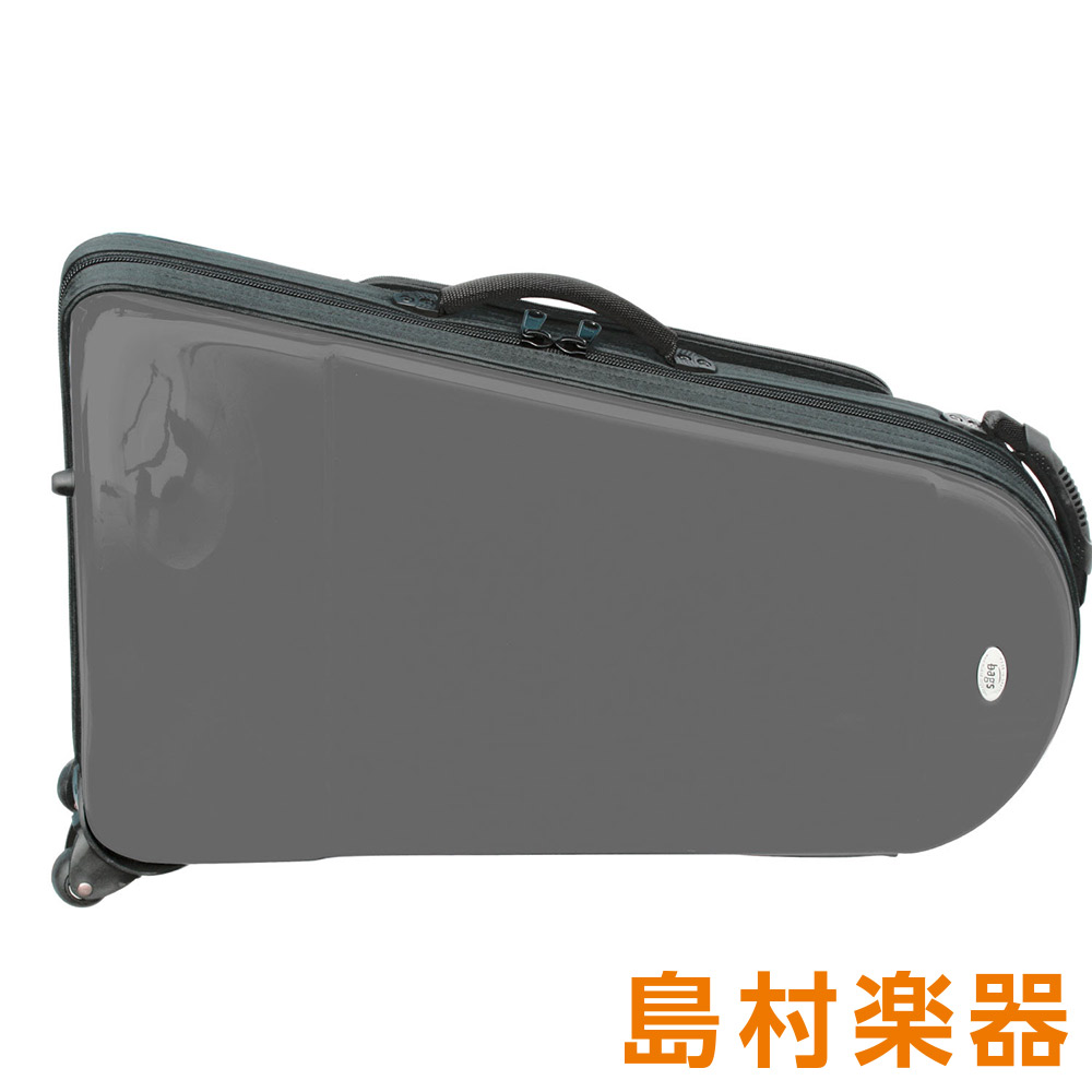 bags EFBE M-GRY メタリックグレー ファイバーケース ユーフォニアム用 【バッグス】