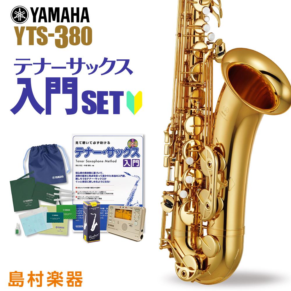 YAMAHA YTS-380 初心者 入門 セット サックス テナーサックス 【ヤマハ YTS380】