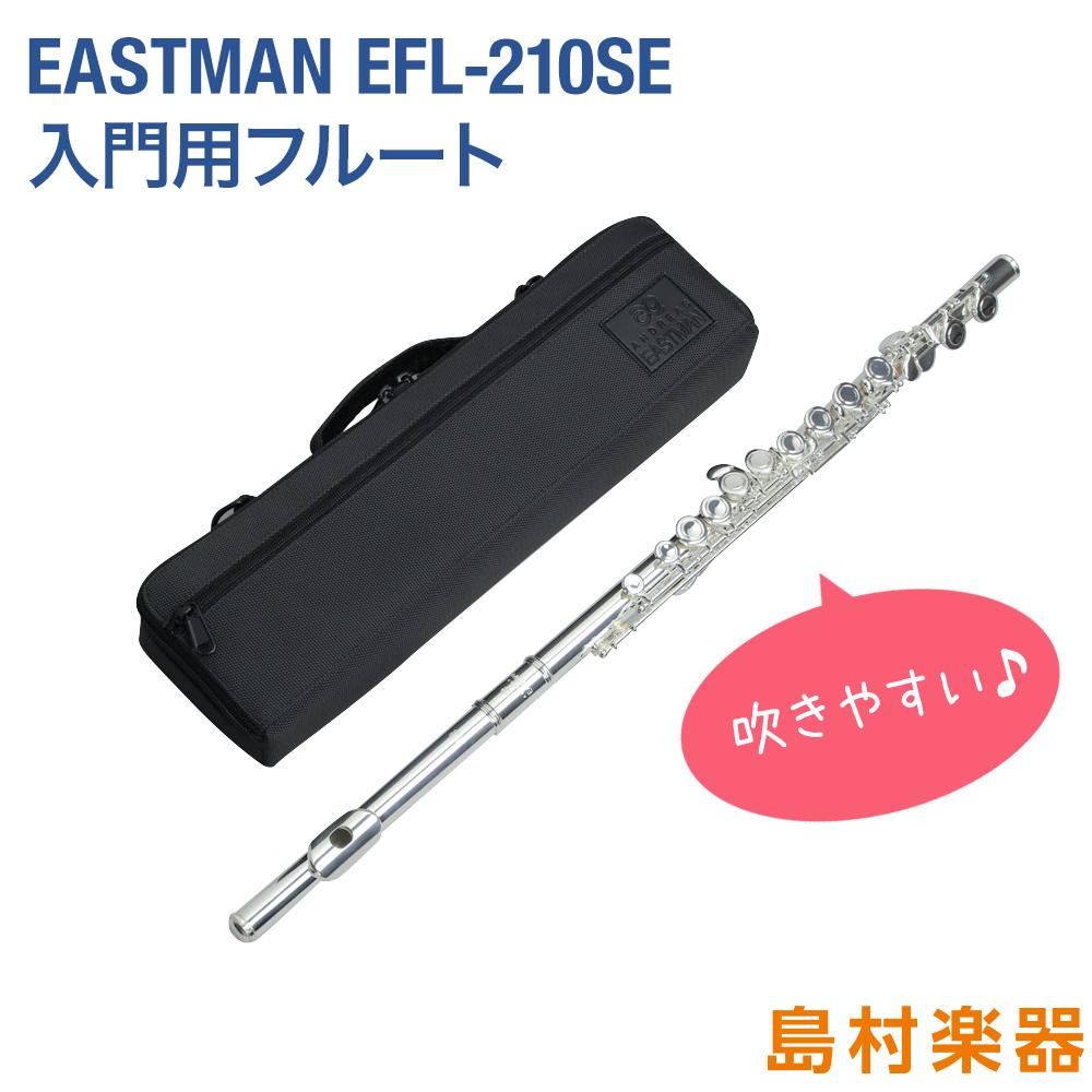 EASTMAN EFL-210SE フルート 【オフセット カバードキイ】 【Eメカ付き】 【イーストマン EFL210SE 初心者向け】