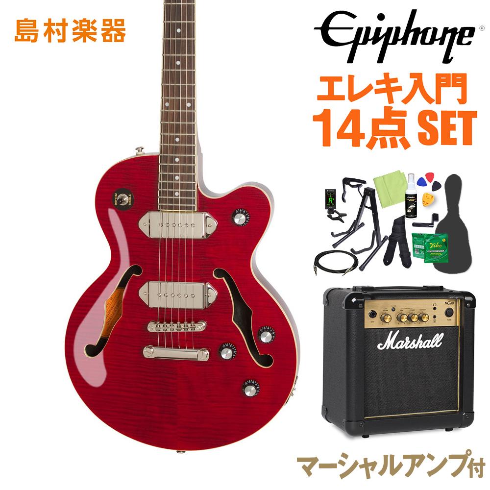 Epiphone Wildkat STUDIO WR エレキギター 初心者14点セット マーシャルアンプ付き 【エピフォン】【オンラインストア限定】