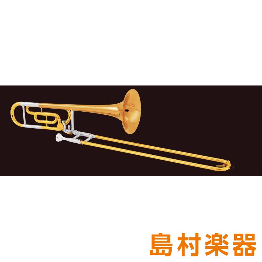 KING 608F テナーバストロンボーン B♭/F ゴールドブラス ラッカー仕上 【キング】